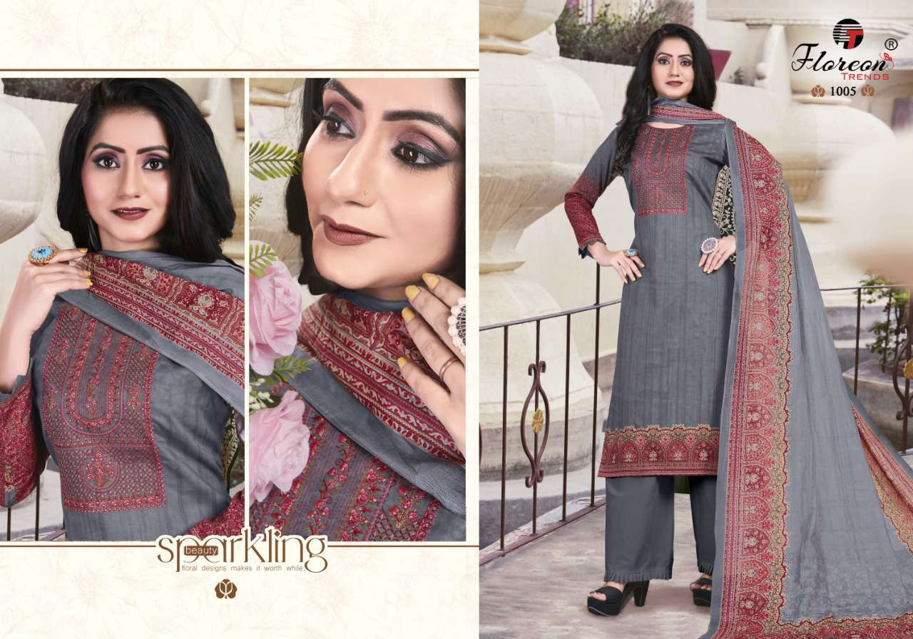 Floreon Trends Alisha Salwar Suit Wholesale Catalog 8 Pcs 5 - Floreon Trends Alisha Salwar Suit Wholesale Catalog 8 Pcs