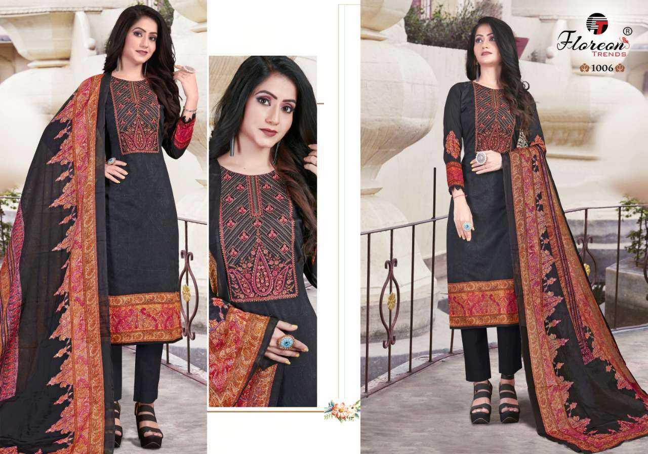 Floreon Trends Alisha Salwar Suit Wholesale Catalog 8 Pcs 6 - Floreon Trends Alisha Salwar Suit Wholesale Catalog 8 Pcs