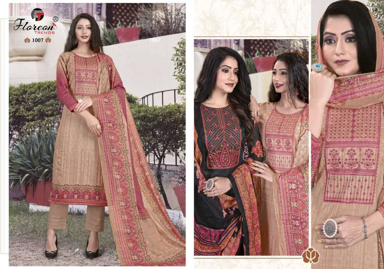 Floreon Trends Alisha Salwar Suit Wholesale Catalog 8 Pcs 7 - Floreon Trends Alisha Salwar Suit Wholesale Catalog 8 Pcs