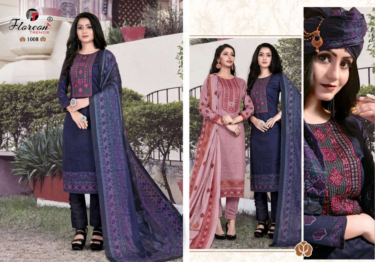 Floreon Trends Alisha Salwar Suit Wholesale Catalog 8 Pcs 8 - Floreon Trends Alisha Salwar Suit Wholesale Catalog 8 Pcs