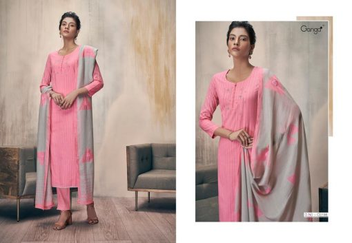 Ganga Zella Salwar Suit Wholesale Catalog 9 Pcs 2 510x353 - Ganga Zella Salwar Suit Wholesale Catalog 9 Pcs