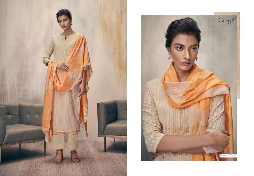 Ganga Zella Salwar Suit Wholesale Catalog 9 Pcs 3 - Ganga Zella Salwar Suit Wholesale Catalog 9 Pcs