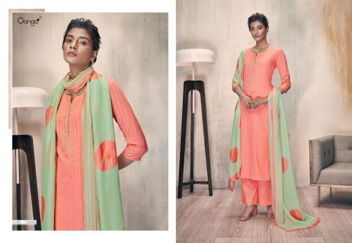 Ganga Zella Salwar Suit Wholesale Catalog 9 Pcs 8 510x353 - Ganga Zella Salwar Suit Wholesale Catalog 9 Pcs