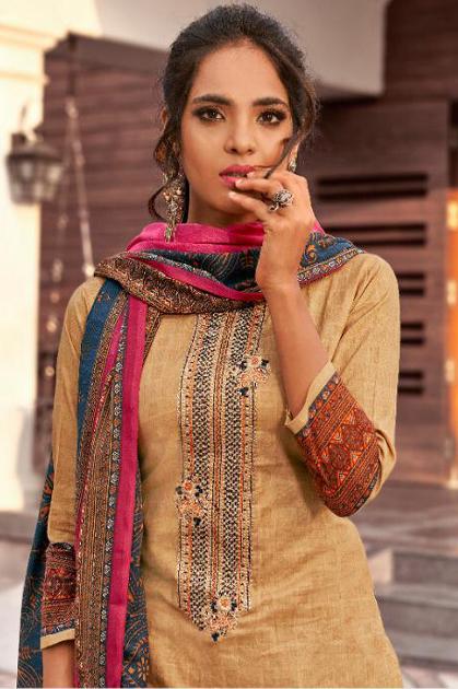 Hermitage Clothing Riwayat Salwar Suit Wholesale Catalog 7 Pcs