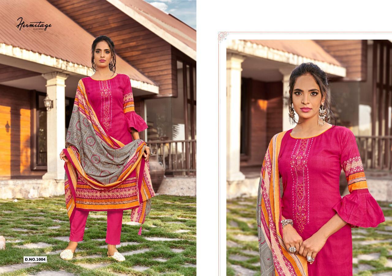 Hermitage Clothing Riwayat Salwar Suit Wholesale Catalog 7 Pcs 3 - Hermitage Clothing Riwayat Salwar Suit Wholesale Catalog 7 Pcs