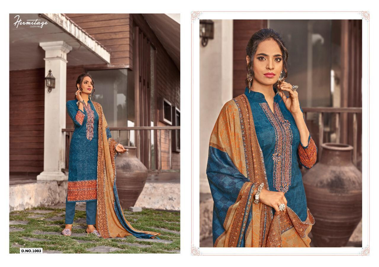 Hermitage Clothing Riwayat Salwar Suit Wholesale Catalog 7 Pcs 4 - Hermitage Clothing Riwayat Salwar Suit Wholesale Catalog 7 Pcs