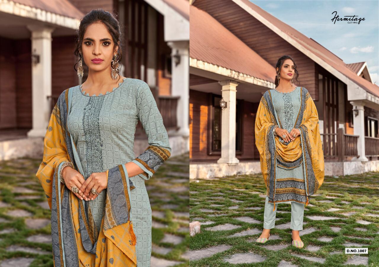 Hermitage Clothing Riwayat Salwar Suit Wholesale Catalog 7 Pcs 7 - Hermitage Clothing Riwayat Salwar Suit Wholesale Catalog 7 Pcs