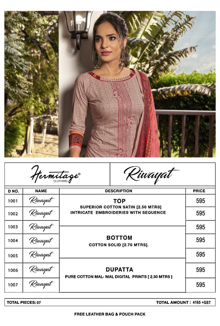 Hermitage Clothing Riwayat Salwar Suit Wholesale Catalog 7 Pcs 8 - Hermitage Clothing Riwayat Salwar Suit Wholesale Catalog 7 Pcs