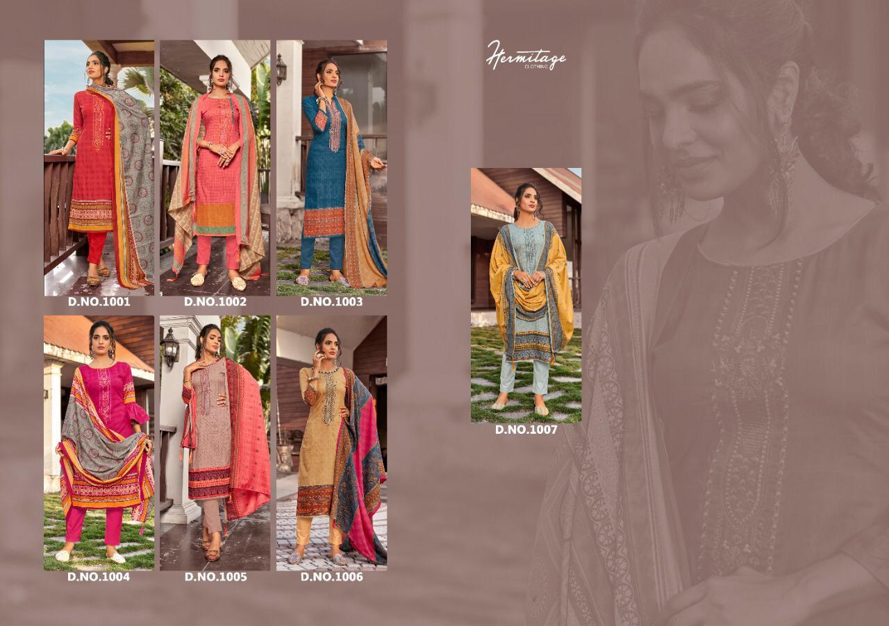 Hermitage Clothing Riwayat Salwar Suit Wholesale Catalog 7 Pcs 9 - Hermitage Clothing Riwayat Salwar Suit Wholesale Catalog 7 Pcs