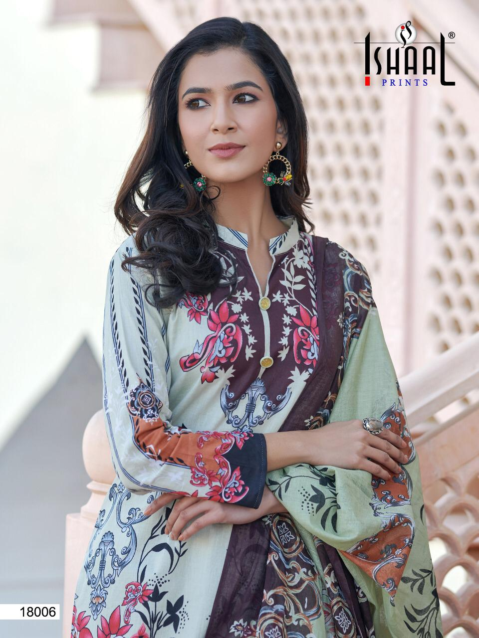 Ishaal Gulmohar Vol 18 Salwar Suit Wholesale Catalog 10 Pcs 13 - Ishaal Gulmohar Vol 18 Salwar Suit Wholesale Catalog 10 Pcs