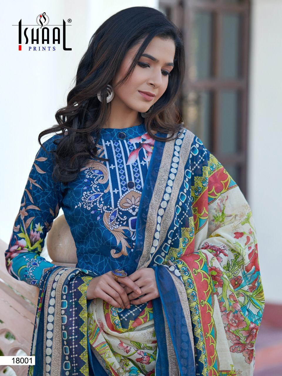 Ishaal Gulmohar Vol 18 Salwar Suit Wholesale Catalog 10 Pcs 20 - Ishaal Gulmohar Vol 18 Salwar Suit Wholesale Catalog 10 Pcs