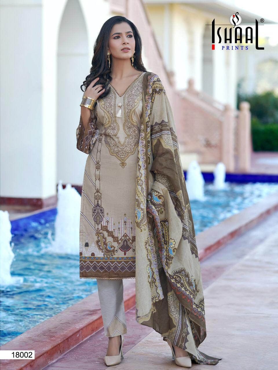Ishaal Gulmohar Vol 18 Salwar Suit Wholesale Catalog 10 Pcs 21 - Ishaal Gulmohar Vol 18 Salwar Suit Wholesale Catalog 10 Pcs