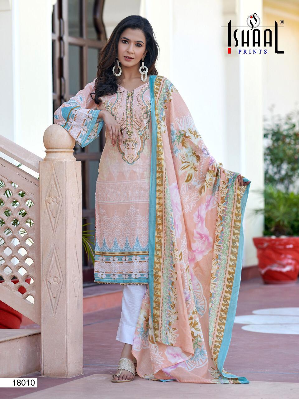 Ishaal Gulmohar Vol 18 Salwar Suit Wholesale Catalog 10 Pcs 3 - Ishaal Gulmohar Vol 18 Salwar Suit Wholesale Catalog 10 Pcs