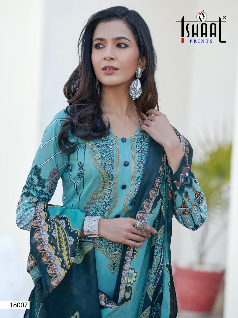 Ishaal Gulmohar Vol 18 Salwar Suit Wholesale Catalog 10 Pcs 7 - Ishaal Gulmohar Vol 18 Salwar Suit Wholesale Catalog 10 Pcs