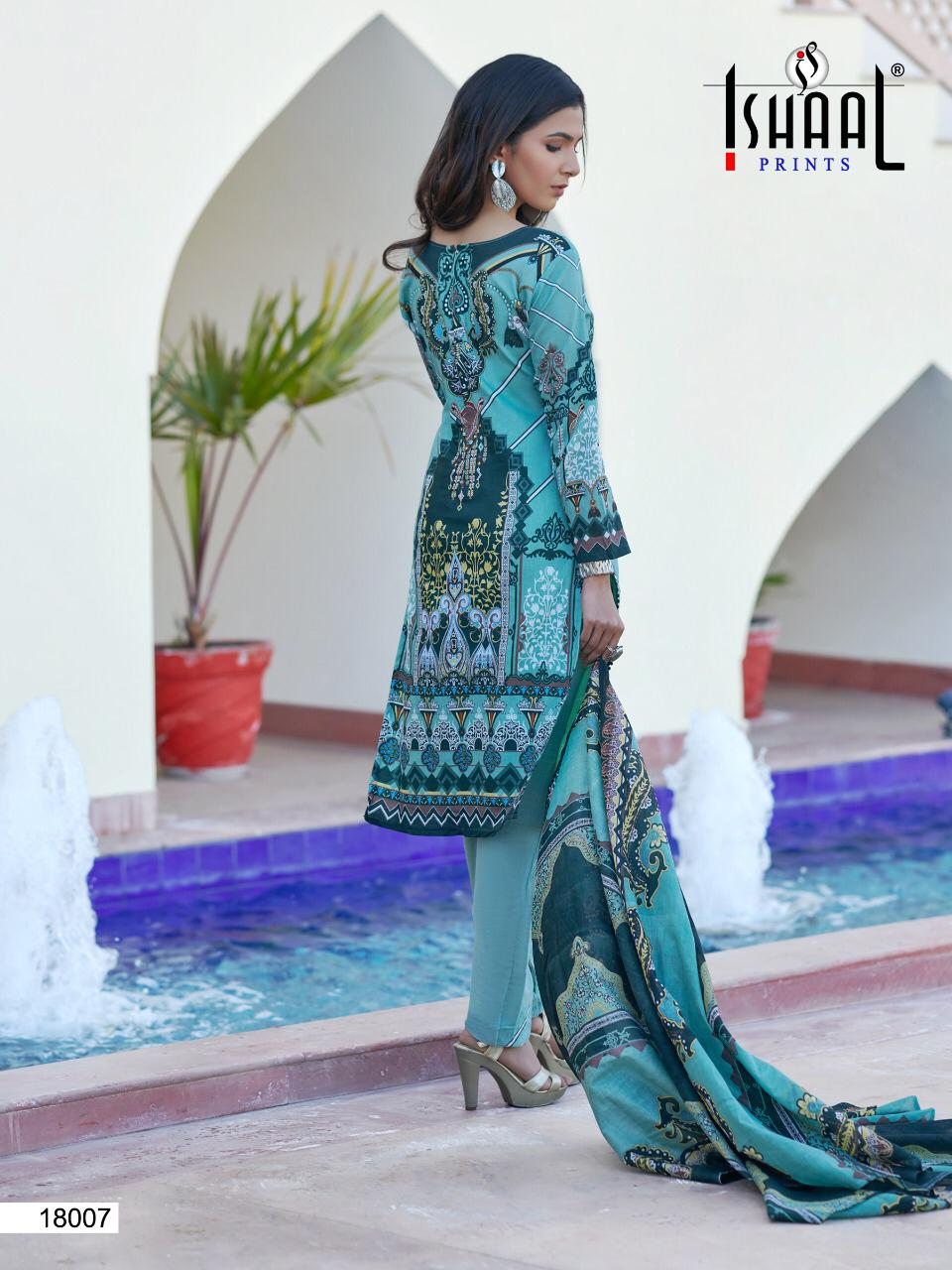Ishaal Gulmohar Vol 18 Salwar Suit Wholesale Catalog 10 Pcs 8 - Ishaal Gulmohar Vol 18 Salwar Suit Wholesale Catalog 10 Pcs