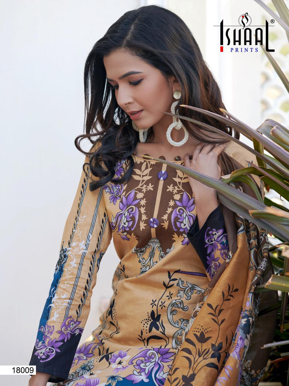Ishaal Gulmohar Vol 18 Salwar Suit Wholesale Catalog 10 Pcs 9 - Ishaal Gulmohar Vol 18 Salwar Suit Wholesale Catalog 10 Pcs