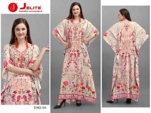Jelite Afreen Kaftans Kurti Wholesale Catalog 8 Pcs 1 510x383 - Jelite Afreen Kaftans Kurti Wholesale Catalog 8 Pcs