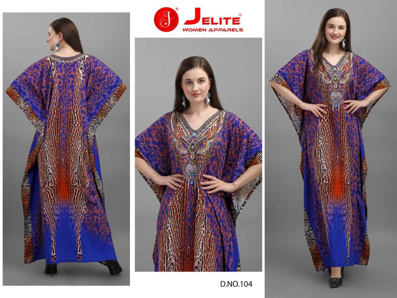 Jelite Afreen Kaftans Kurti Wholesale Catalog 8 Pcs 2 - Jelite Afreen Kaftans Kurti Wholesale Catalog 8 Pcs