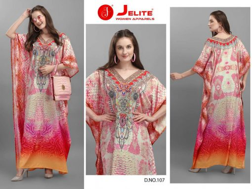 Jelite Afreen Kaftans Kurti Wholesale Catalog 8 Pcs 5 510x383 - Jelite Afreen Kaftans Kurti Wholesale Catalog 8 Pcs