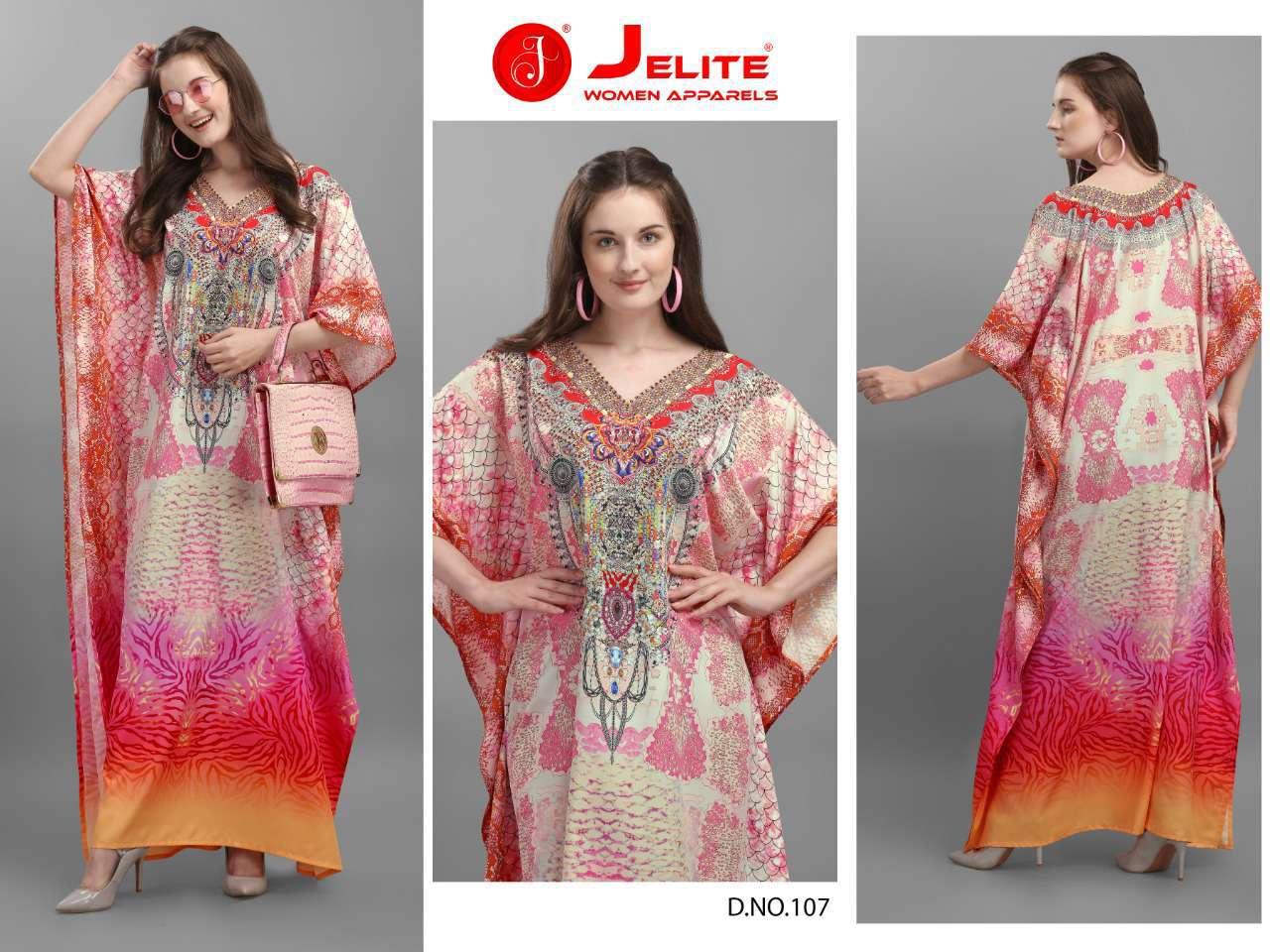 Jelite Afreen Kaftans Kurti Wholesale Catalog 8 Pcs 5 - Jelite Afreen Kaftans Kurti Wholesale Catalog 8 Pcs