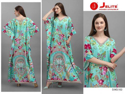Jelite Afreen Kaftans Kurti Wholesale Catalog 8 Pcs 8 510x383 - Jelite Afreen Kaftans Kurti Wholesale Catalog 8 Pcs