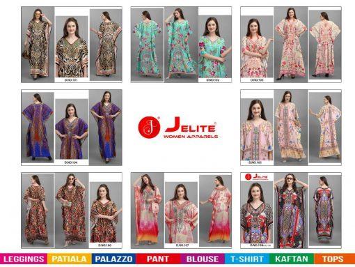 Jelite Afreen Kaftans Kurti Wholesale Catalog 8 Pcs 9 510x383 - Jelite Afreen Kaftans Kurti Wholesale Catalog 8 Pcs
