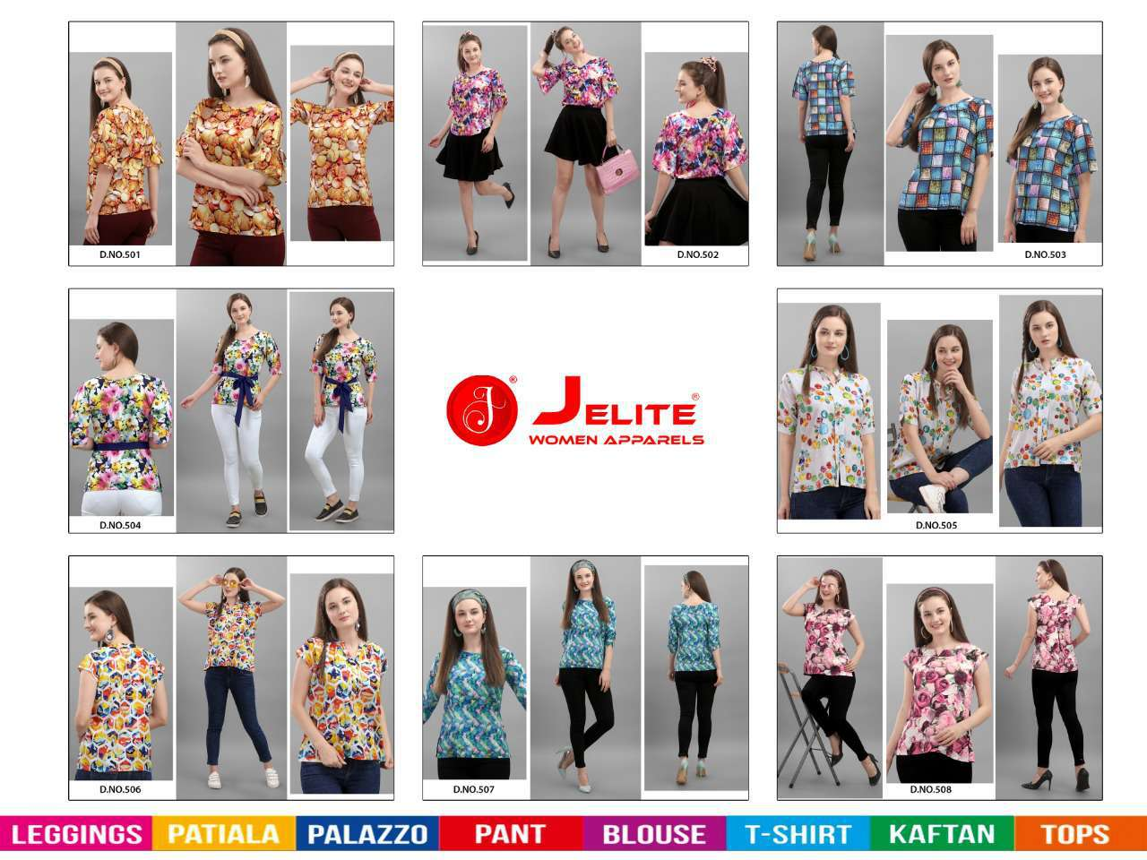 Jelite Orchid Tops Wholesale Catalog 8 Pcs 9 - Jelite Orchid Tops Wholesale Catalog 8 Pcs