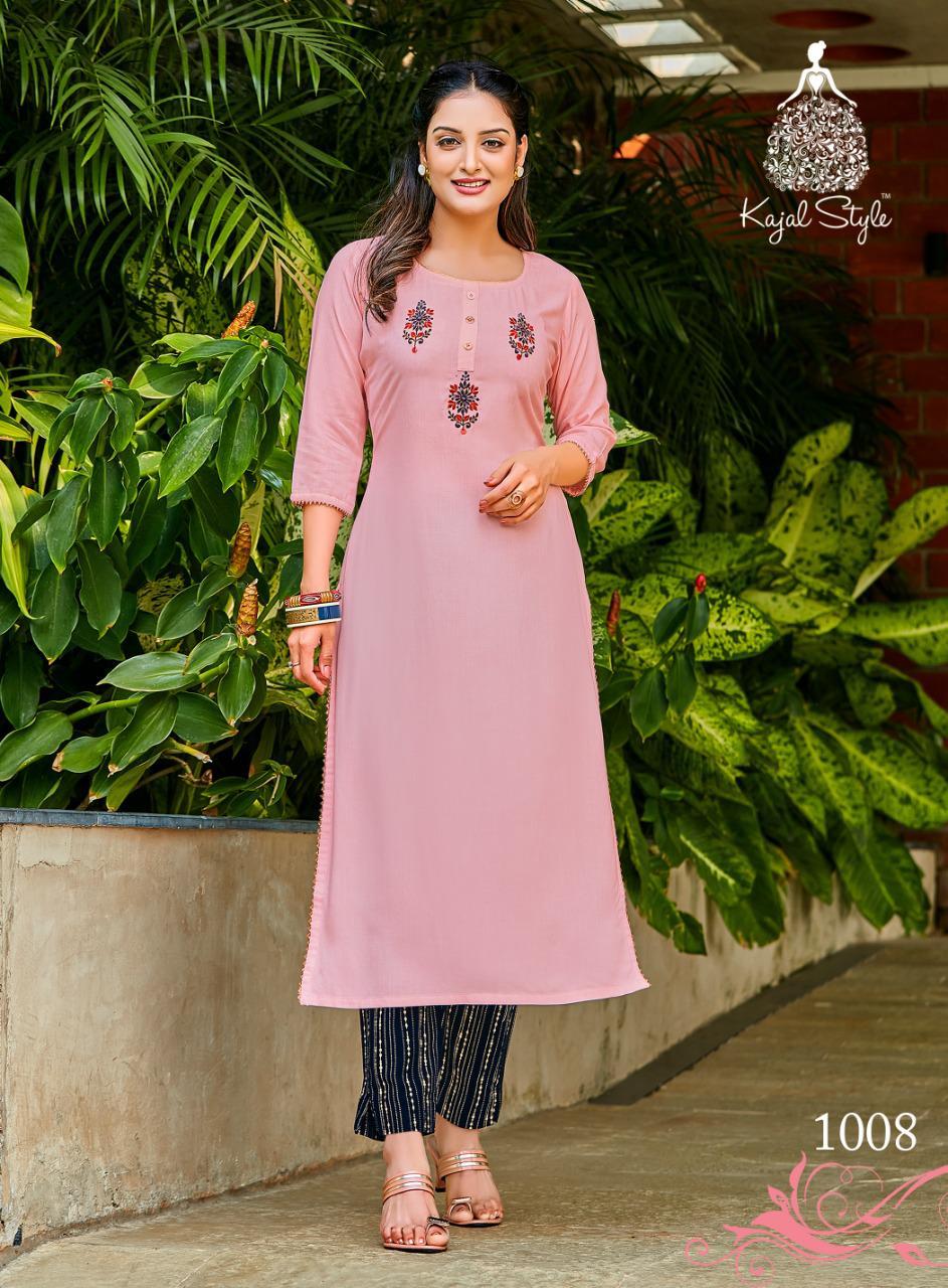 Kajal Style Fashion Dream Vol 1 Kurti with Pant Wholesale Catalog 8 Pcs 9 - Kajal Style Fashion Dream Vol 1 Kurti with Pant Wholesale Catalog 8 Pcs