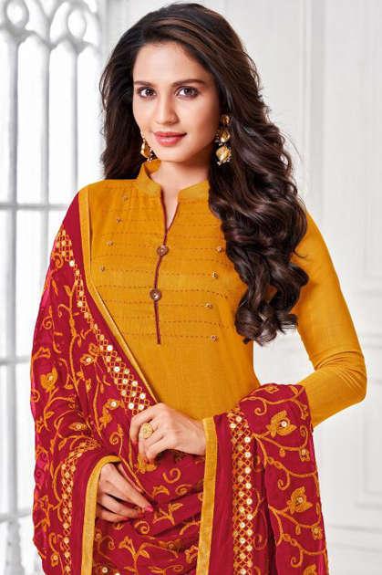 Kapil Trendz Noori Salwar Suit Wholesale Catalog 12 Pcs