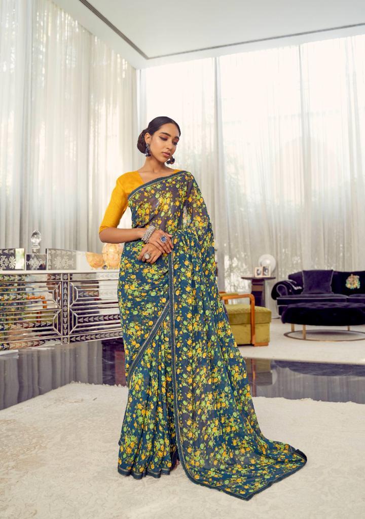 Kashvi Arth by Lt Fabrics Saree Sari Wholesale Catalog 10 Pcs 10 - Kashvi Arth by Lt Fabrics Saree Sari Wholesale Catalog 10 Pcs