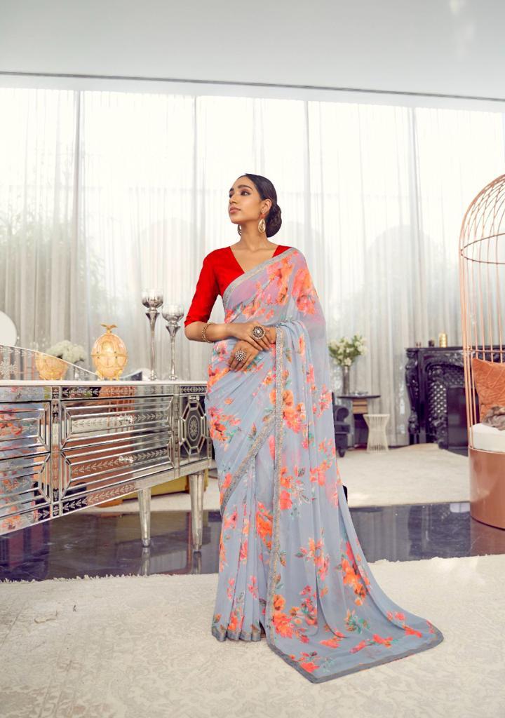 Kashvi Arth by Lt Fabrics Saree Sari Wholesale Catalog 10 Pcs 14 - Kashvi Arth by Lt Fabrics Saree Sari Wholesale Catalog 10 Pcs