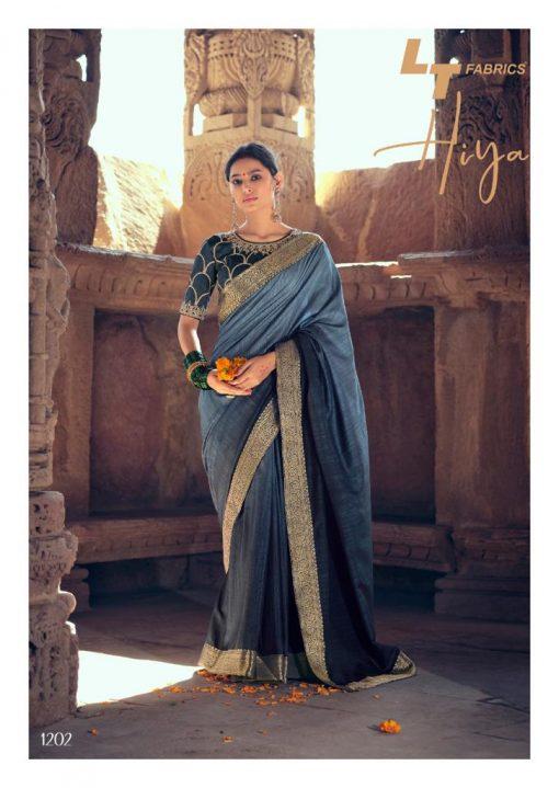 Kashvi Hiya by Lt Fabrics Saree Sari Wholesale Catalog 10 Pcs 1 510x719 - Kashvi Hiya by Lt Fabrics Saree Sari Wholesale Catalog 10 Pcs