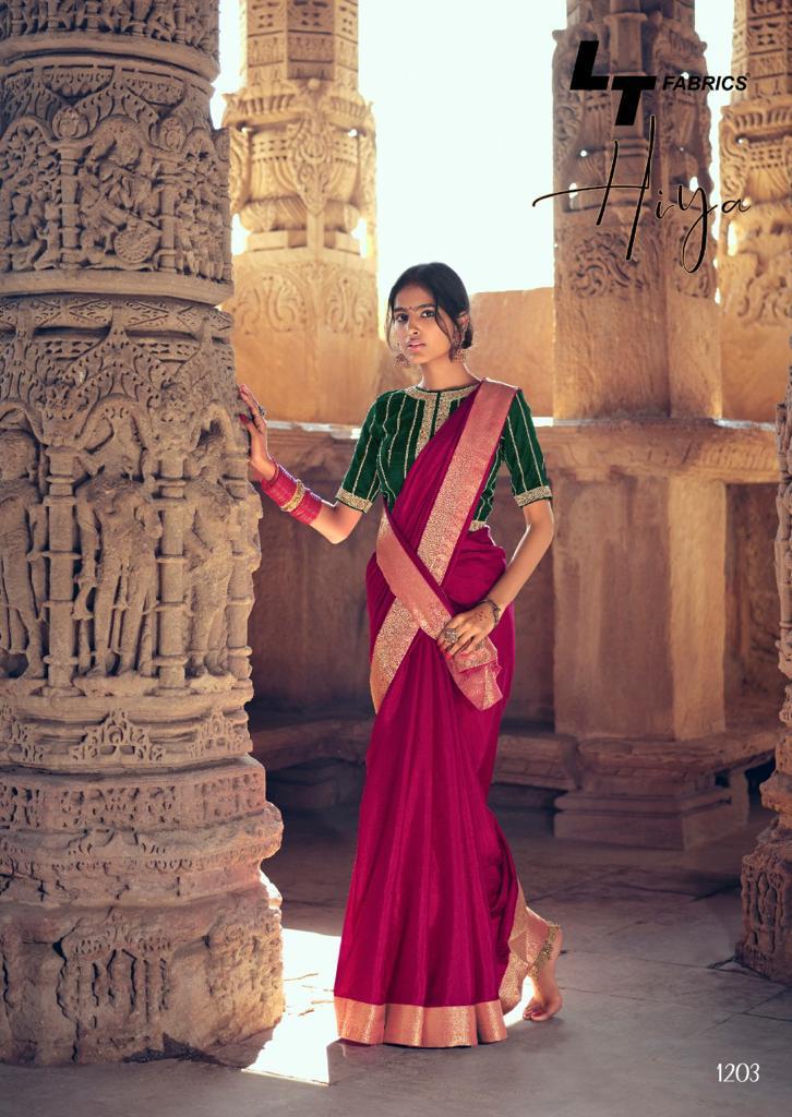 Kashvi Hiya by Lt Fabrics Saree Sari Wholesale Catalog 10 Pcs 10 - Kashvi Hiya by Lt Fabrics Saree Sari Wholesale Catalog 10 Pcs