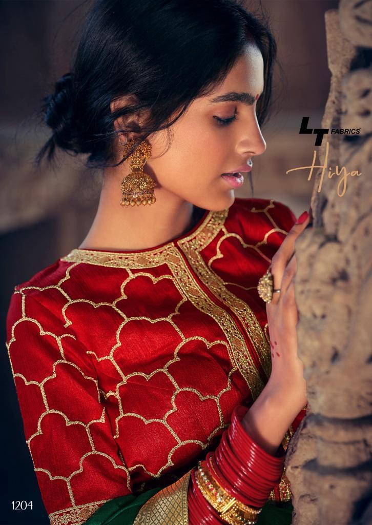 Kashvi Hiya by Lt Fabrics Saree Sari Wholesale Catalog 10 Pcs 12 - Kashvi Hiya by Lt Fabrics Saree Sari Wholesale Catalog 10 Pcs