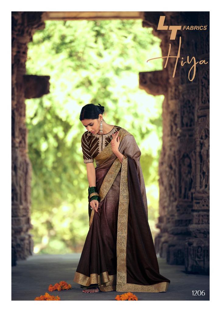 Kashvi Hiya by Lt Fabrics Saree Sari Wholesale Catalog 10 Pcs 14 - Kashvi Hiya by Lt Fabrics Saree Sari Wholesale Catalog 10 Pcs