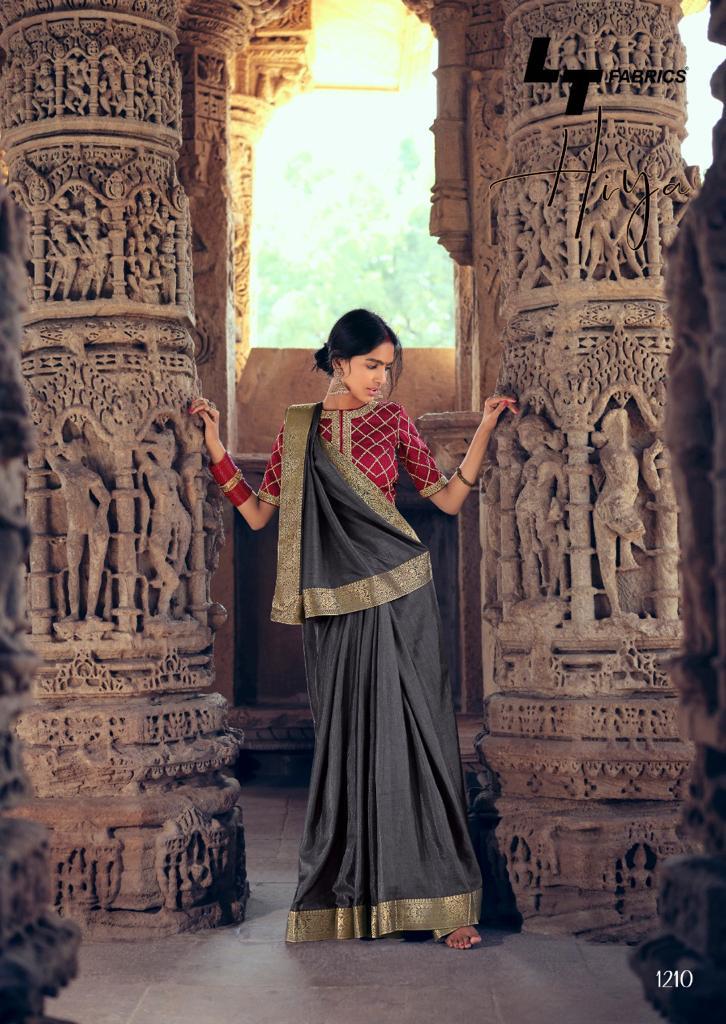 Kashvi Hiya by Lt Fabrics Saree Sari Wholesale Catalog 10 Pcs 18 - Kashvi Hiya by Lt Fabrics Saree Sari Wholesale Catalog 10 Pcs