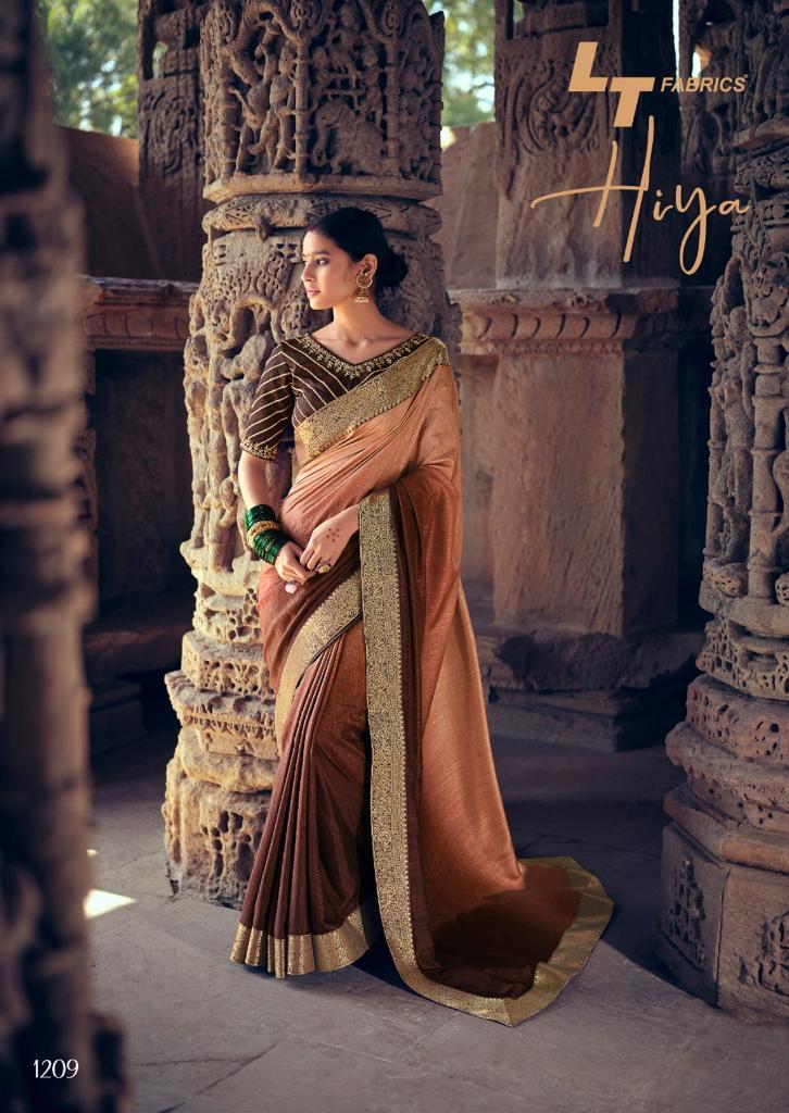 Kashvi Hiya by Lt Fabrics Saree Sari Wholesale Catalog 10 Pcs 19 - Kashvi Hiya by Lt Fabrics Saree Sari Wholesale Catalog 10 Pcs