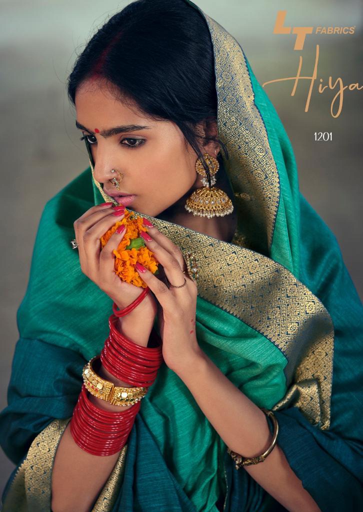 Kashvi Hiya by Lt Fabrics Saree Sari Wholesale Catalog 10 Pcs 2 - Kashvi Hiya by Lt Fabrics Saree Sari Wholesale Catalog 10 Pcs