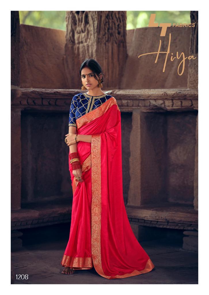 Kashvi Hiya by Lt Fabrics Saree Sari Wholesale Catalog 10 Pcs 23 - Kashvi Hiya by Lt Fabrics Saree Sari Wholesale Catalog 10 Pcs