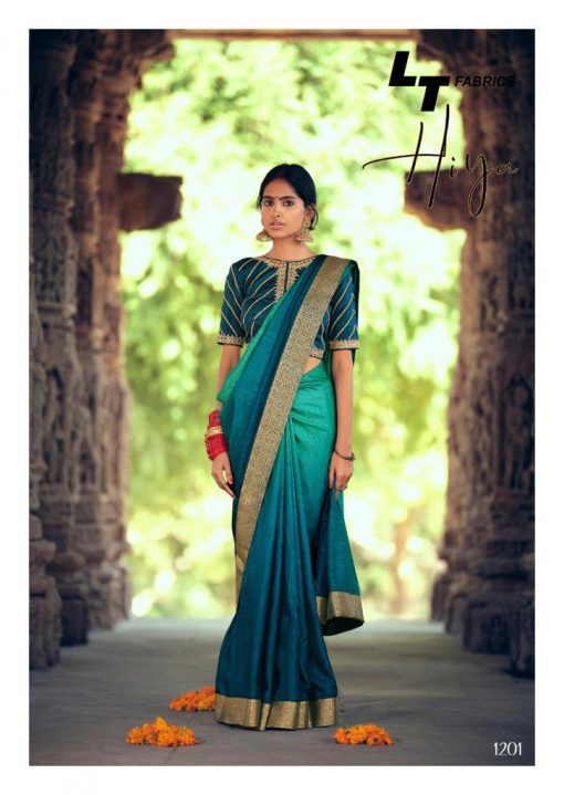 Kashvi Hiya by Lt Fabrics Saree Sari Wholesale Catalog 10 Pcs 4 510x719 - Kashvi Hiya by Lt Fabrics Saree Sari Wholesale Catalog 10 Pcs