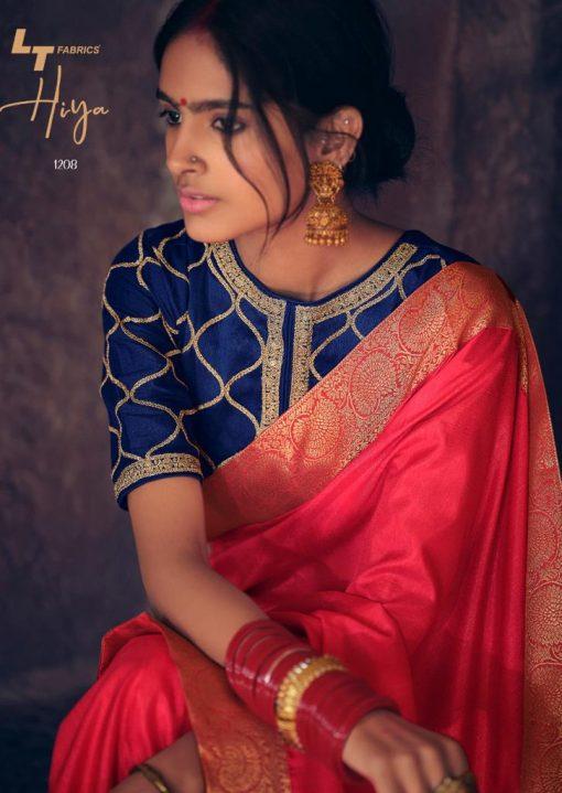 Kashvi Hiya by Lt Fabrics Saree Sari Wholesale Catalog 10 Pcs 8 510x719 - Kashvi Hiya by Lt Fabrics Saree Sari Wholesale Catalog 10 Pcs