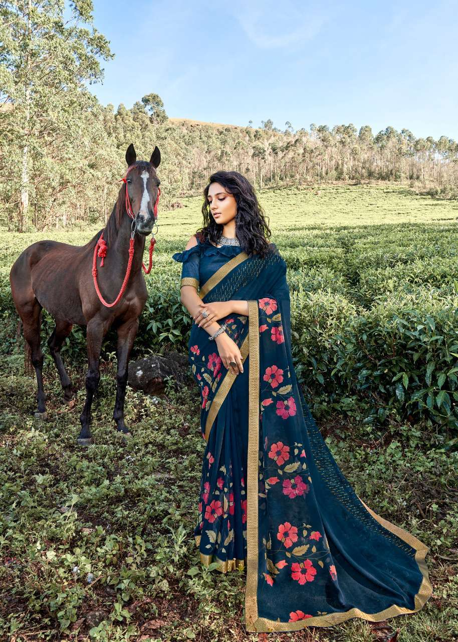 Kashvi Rooh by Lt Fabrics Saree Sari Wholesale Catalog 10 Pcs 12 - Kashvi Rooh by Lt Fabrics Saree Sari Wholesale Catalog 10 Pcs