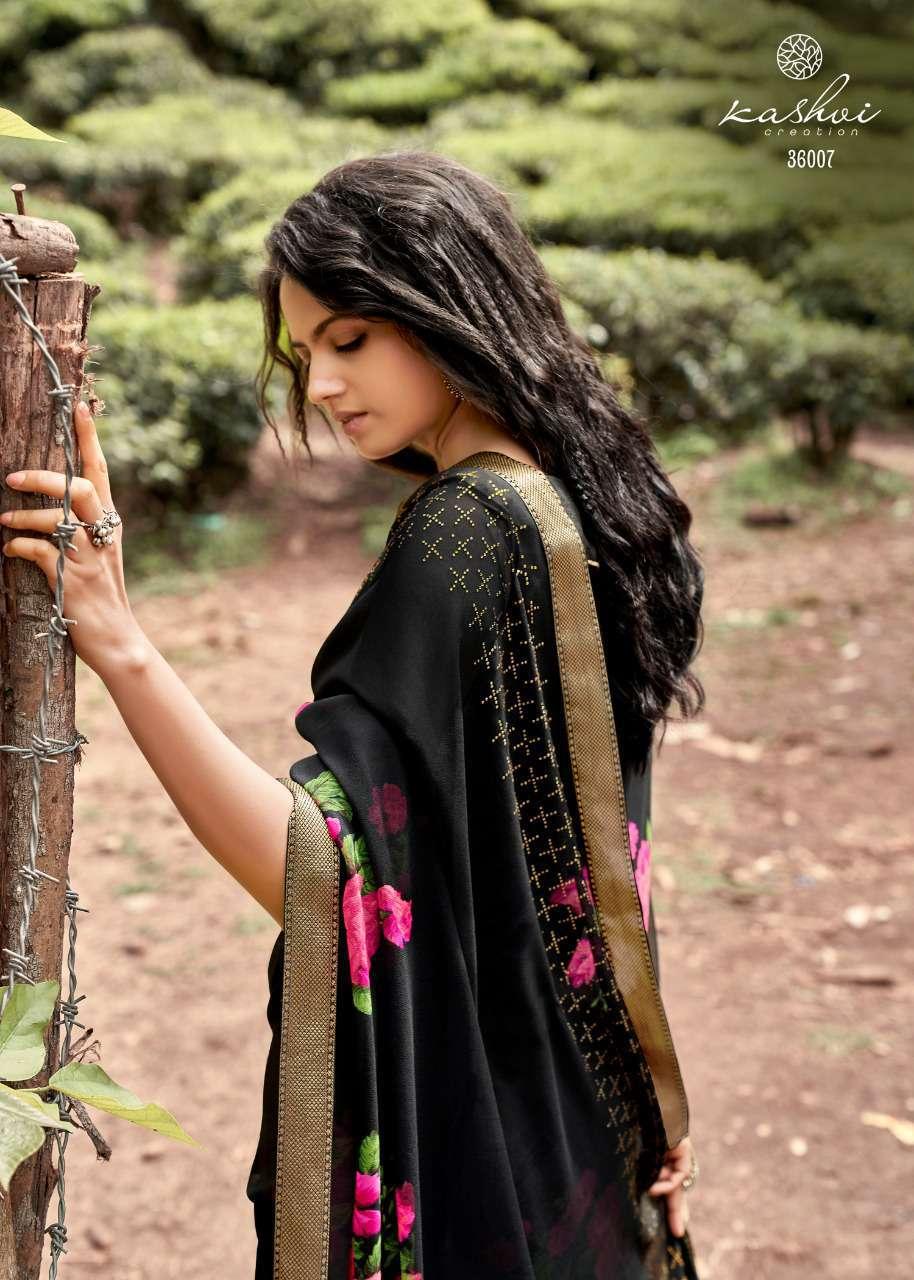 Kashvi Rooh by Lt Fabrics Saree Sari Wholesale Catalog 10 Pcs 14 - Kashvi Rooh by Lt Fabrics Saree Sari Wholesale Catalog 10 Pcs