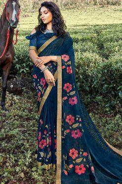Kashvi Rooh by Lt Fabrics Saree Sari Wholesale Catalog 10 Pcs