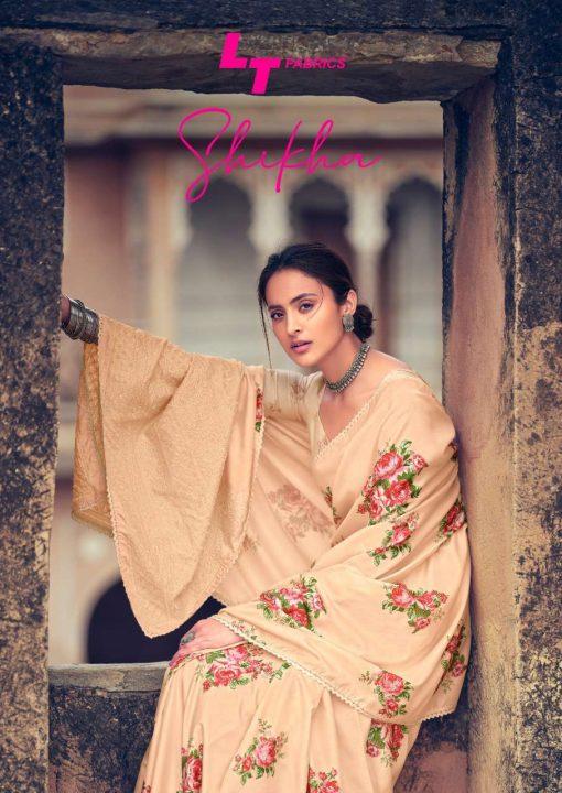Kashvi Shikha by Lt Fabrics Saree Sari Wholesale Catalog 10 Pcs 1 510x720 - Kashvi Shikha by Lt Fabrics Saree Sari Wholesale Catalog 10 Pcs