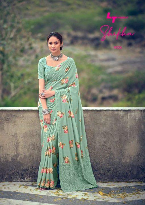 Kashvi Shikha by Lt Fabrics Saree Sari Wholesale Catalog 10 Pcs 16 510x720 - Kashvi Shikha by Lt Fabrics Saree Sari Wholesale Catalog 10 Pcs