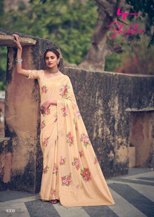 Kashvi Shikha by Lt Fabrics Saree Sari Wholesale Catalog 10 Pcs 17 510x720 - Kashvi Shikha by Lt Fabrics Saree Sari Wholesale Catalog 10 Pcs