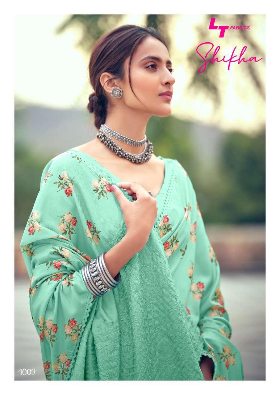 Kashvi Shikha by Lt Fabrics Saree Sari Wholesale Catalog 10 Pcs 19 - Kashvi Shikha by Lt Fabrics Saree Sari Wholesale Catalog 10 Pcs