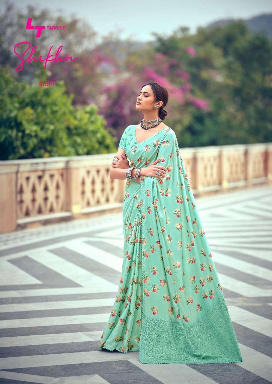 Kashvi Shikha by Lt Fabrics Saree Sari Wholesale Catalog 10 Pcs 20 - Kashvi Shikha by Lt Fabrics Saree Sari Wholesale Catalog 10 Pcs