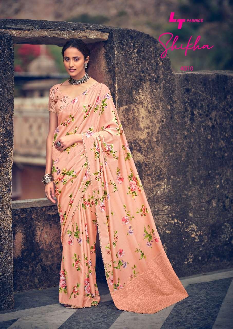 Kashvi Shikha by Lt Fabrics Saree Sari Wholesale Catalog 10 Pcs 21 - Kashvi Shikha by Lt Fabrics Saree Sari Wholesale Catalog 10 Pcs